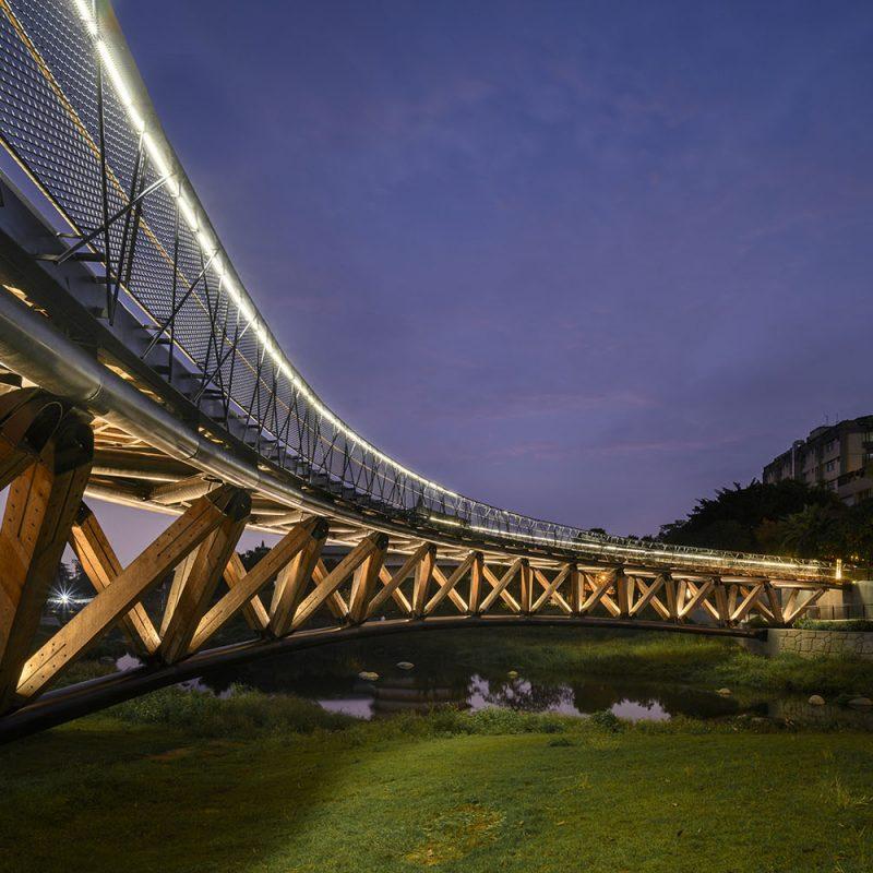 台南竹溪月見橋