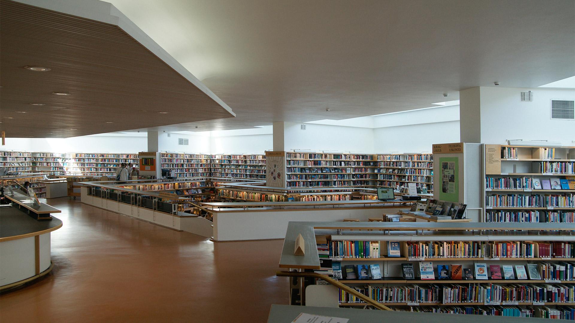 邁向有機空間、建築與城市——阿爾瓦.阿爾托的圖書館建築在1960年代的突破