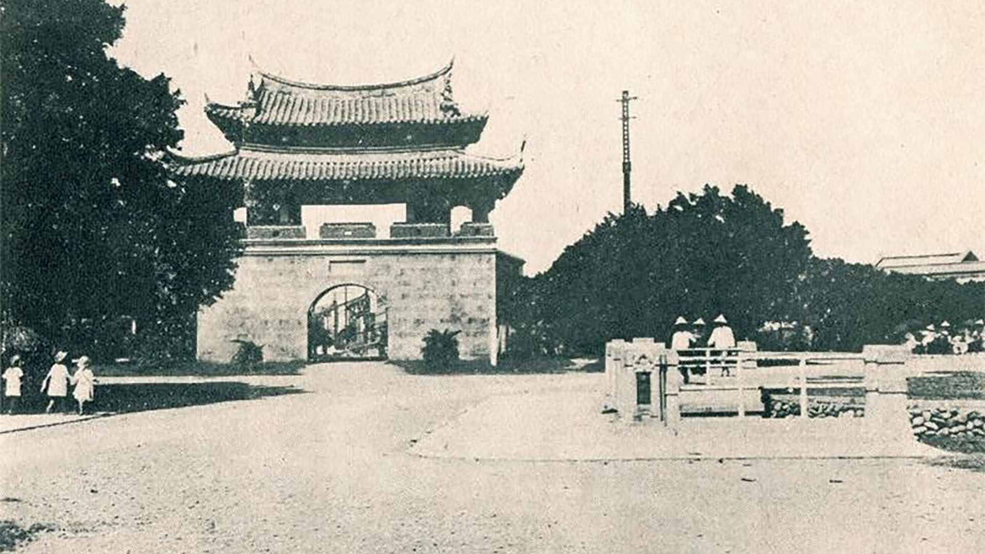 閱讀戰後新竹東門RC城樓重構的意義